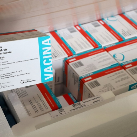 Mais 133 mil vacinas contra a Covid-19 devem chegar ao Paraná nesta quinta
