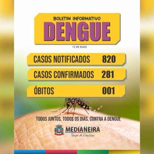 Medianeira já registra um óbito por dengue