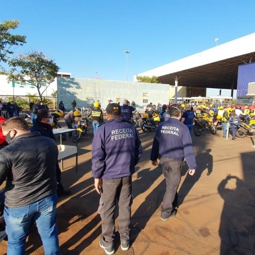 Mototaxistas são alvos de fiscalização na 1ª fase ostensiva da Operação Escudo