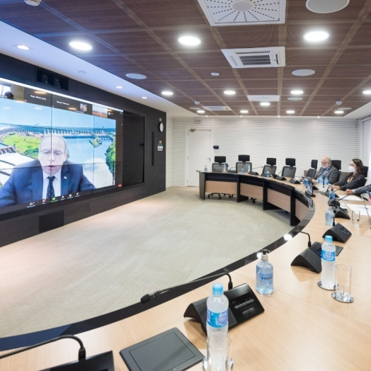 Na ONU, Itaipu anuncia compromissos para avanço da energia limpa e acessível no Brasil e no Paraguai