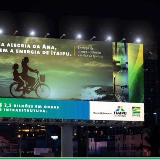 """Nova campanha destaca Itaipu como """"usina de entregas"""" e valoriza impacto dos investimento na vida do cidadão"""