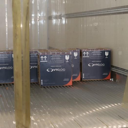 Nova remessa com 67,8 mil imunizantes da Pfizer chega nesta segunda