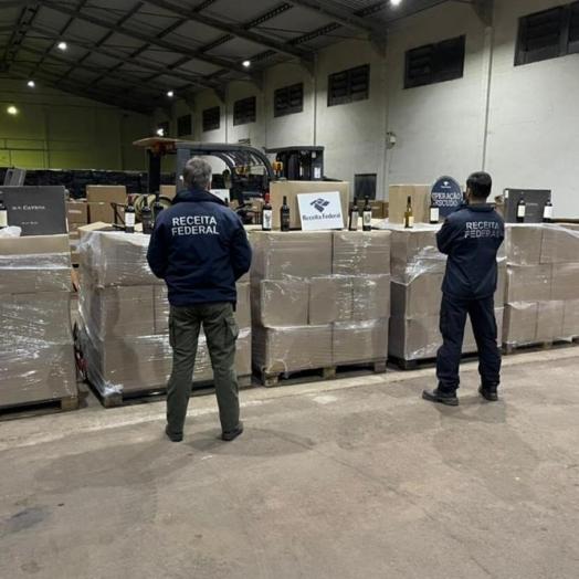 Operação Escudo: Receita Federal retém mais de R$ 4,8 milhões em mercadorias na primeira semana