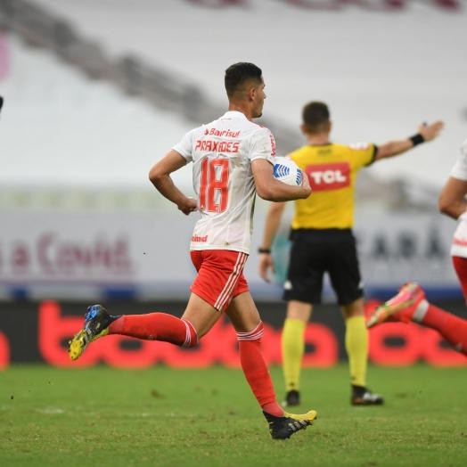 Ouça os gols: Inter dá vexame e sofre goleada de 5 a 1 do Fortaleza, no Castelão
