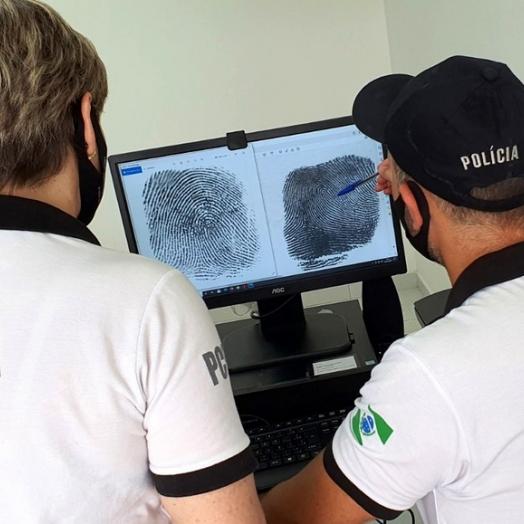 PCPR implanta sistema online que acelera identificação por impressões digitais