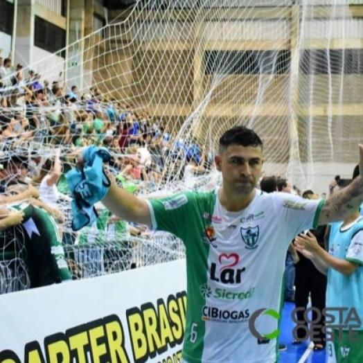Pivô ex-Aymoré e Foz Cataratas acerta com União da Vitória Futsal