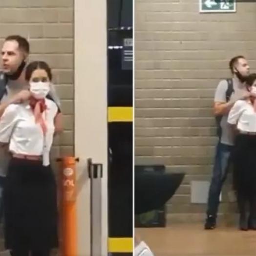 PM de Foz é preso após fazer mulher de refém no Aeroporto de Guarulhos; vídeo