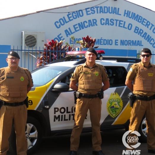Polícia Militar de Santa Helena intensifica fiscalização em torno de escolas