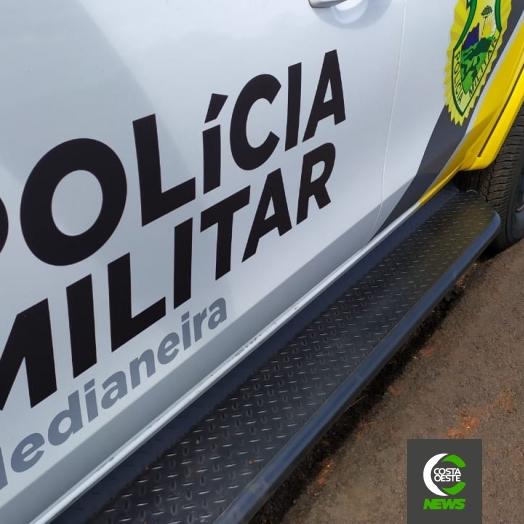 Polícia Militar prende autor de furto e receptador em Medianeira