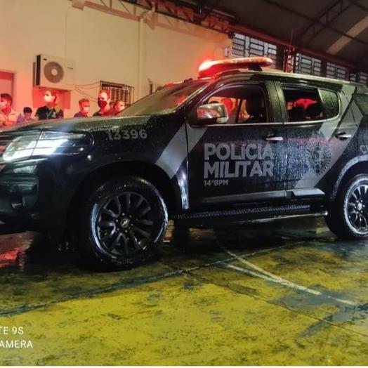 Polícia Militar presta apoio na distribuição de vacinas na região oeste