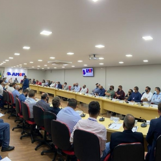 Prefeito de Medianeira participa da 1ª Assembleia Geral Ordinária de 2021 da AMOP