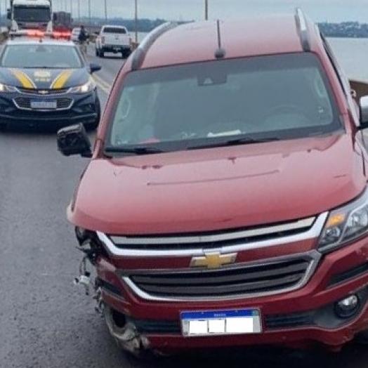 PRF recupera veículo roubado em poucas horas em Guaíra