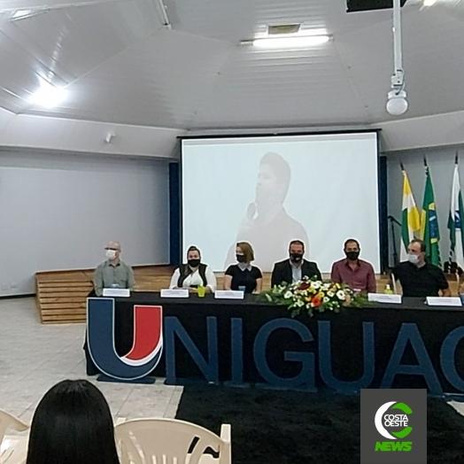 Projeto de Extensão: UNIGUAÇU lança projeto Caminha Uniguaçu