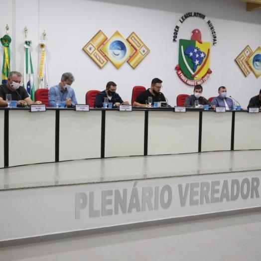 Projeto de Lei que implanta o uso de pulseiras em pacientes com Covid é lido na Câmara de Vereadores de Itaipulândia