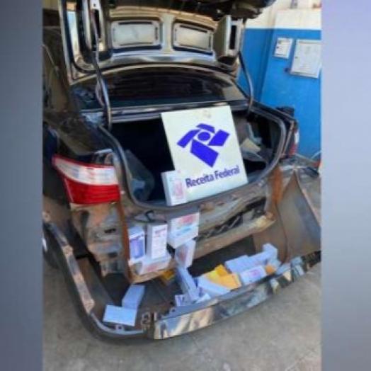 Receita Federal apreende celulares em veículo em Vera Cruz do Oeste