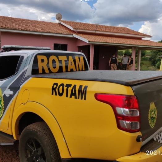 ROTAM intensifica patrulhamento na área rural da região