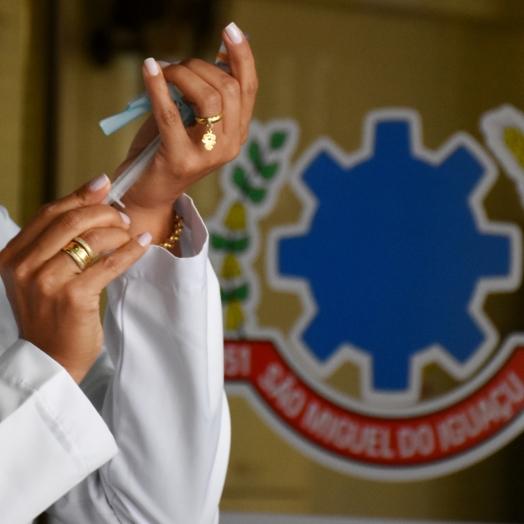 São Miguel do Iguaçu inicia nesta quinta-feira (11) vacinação de idosos acima de 90 anos