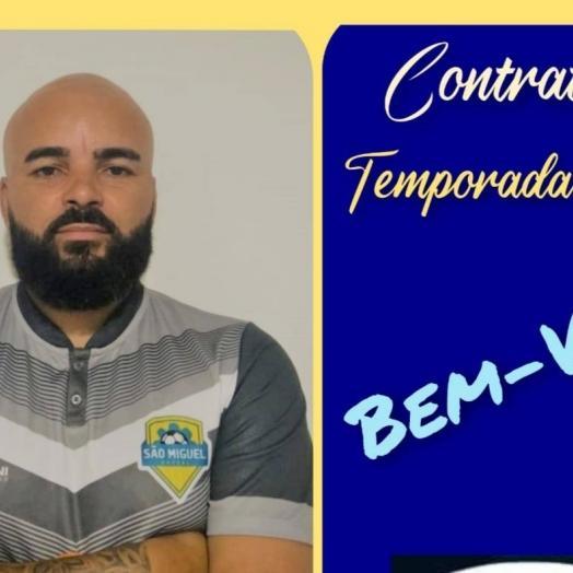 São Miguel Futsal anuncia novo treinador