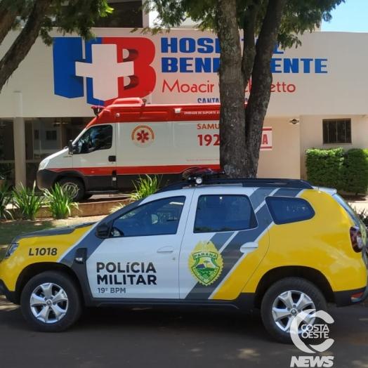 Homicídio é registrado no distrito de Sub-Sede em Santa Helena