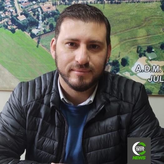 Vice-prefeito de São José das Palmeiras assume interinamente a prefeitura por 30 dias