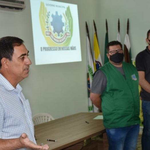 São Miguel do Iguaçu: Vice-prefeito e secretários participam de reunião do Conselho Municipal de Desenvolvimento Agropecuário